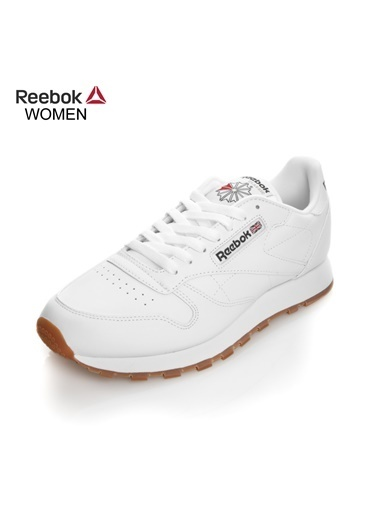 Reebok Unisex Beyaz Cl Lthr Sneakers 49803 Beyaz